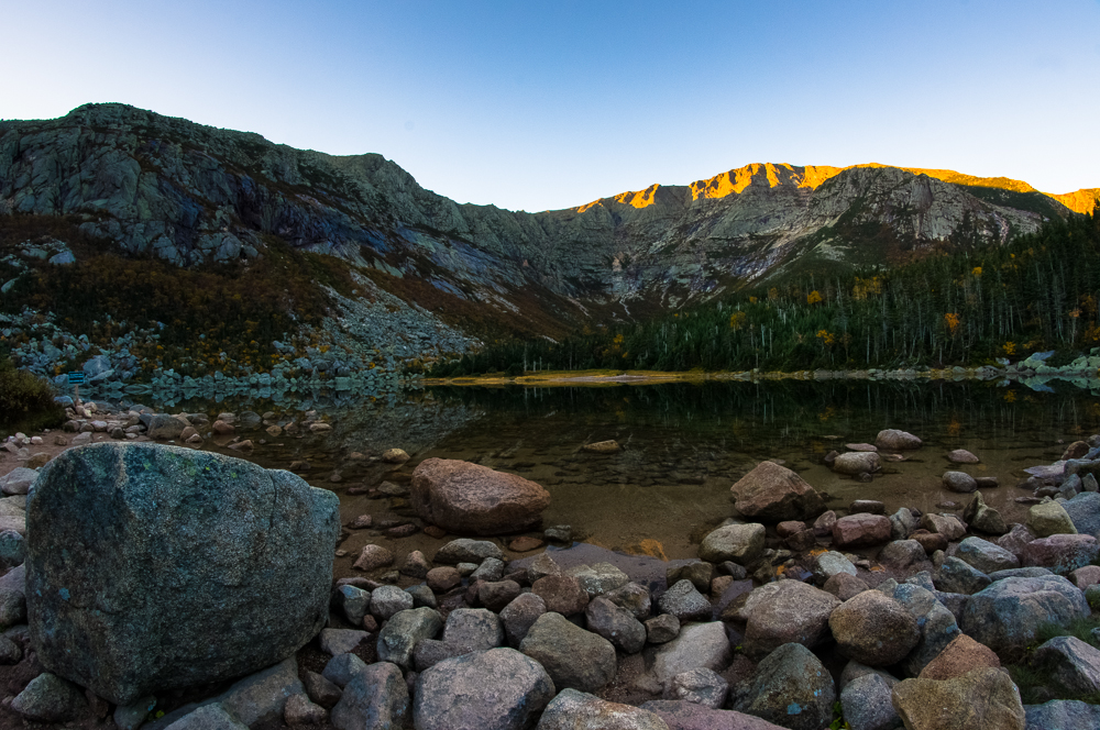 Chimney Pond Sunrise