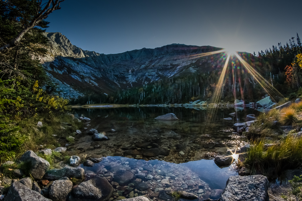 Chimney Pond Sunset
