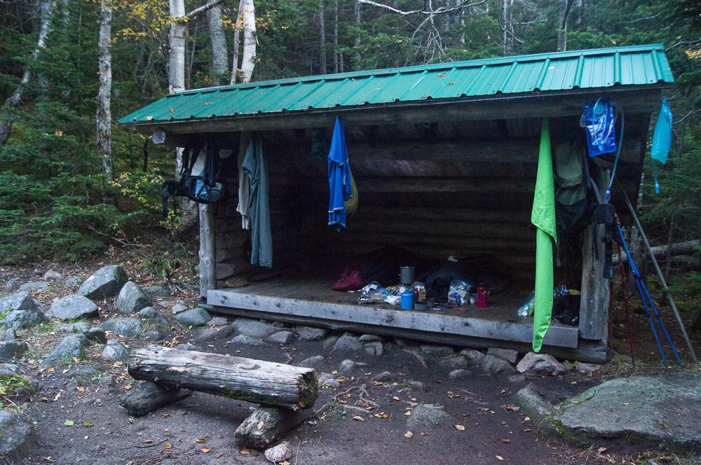 Davis Pond Shelter