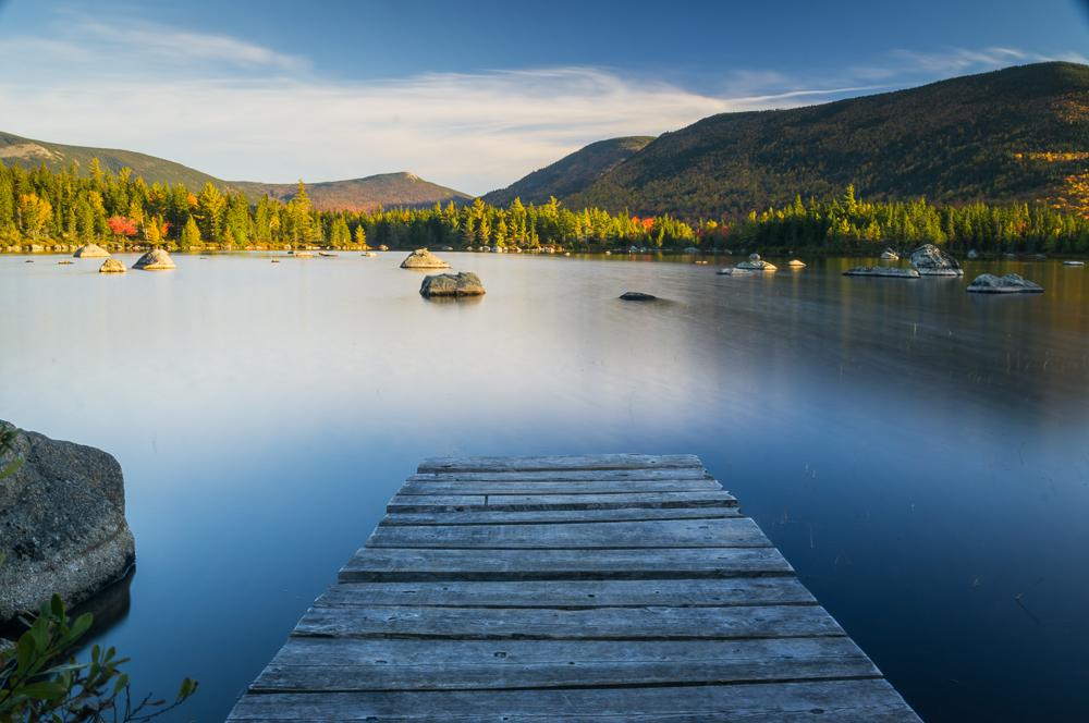 Russell Pond - Ranger Dock