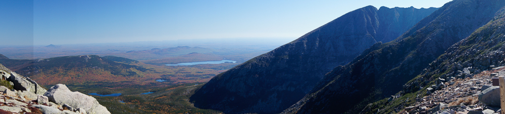 Katahdin - Top of Saddle Slide