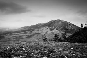 Bigelow Range from Little Bigelow Mountain Maine