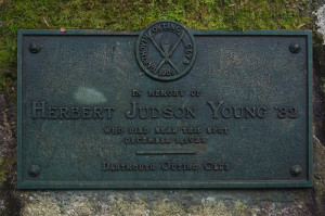 Herbert Young Plaque