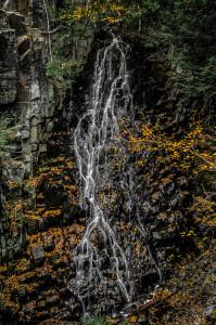 Mosher Hill Falls - Portrait