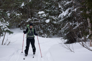 Tammy Skiing