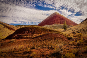 Painted Hills - Red Scar Knoll