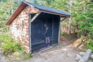 Chimney Pond Lean-To Bug Screen